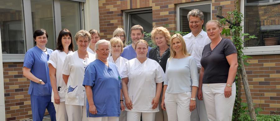 Das team der Kinderwunschklinik in Rostock
